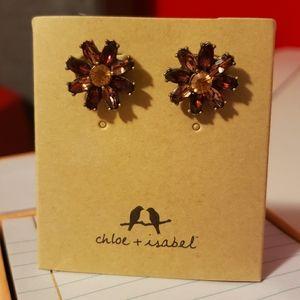 Chloe + Isabel Floral Studs